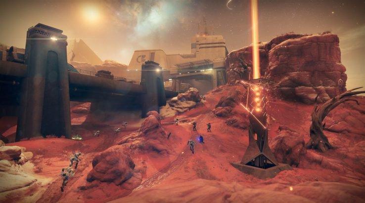destiny 2 escalation protocol weapons armor end game mars patrol