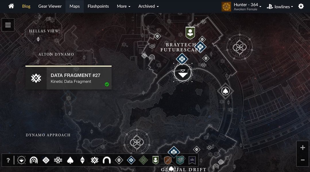Destiny 2 Fan Site Helps You Find Every Hidden Item