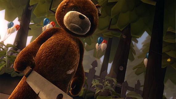 Free Naughty Bear DLC on the Way