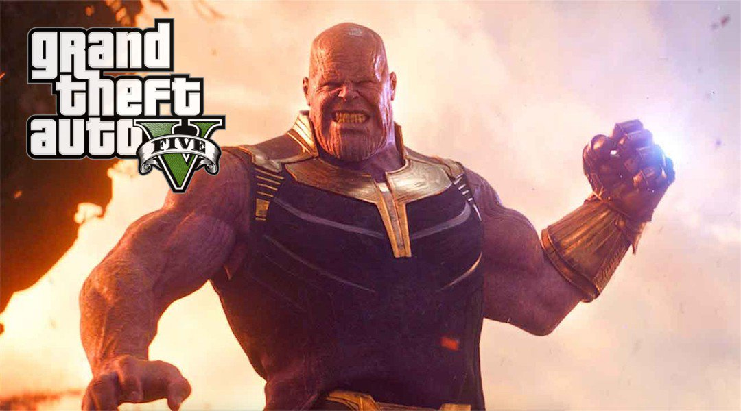 Grand Theft Auto 5 Mod Adds Thanos